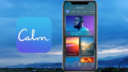 Lebron James Calm Meditation App 1280x720